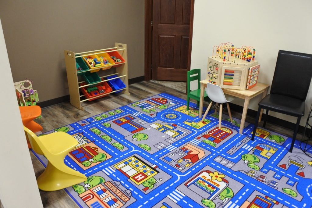 Play Room for siblings waiting