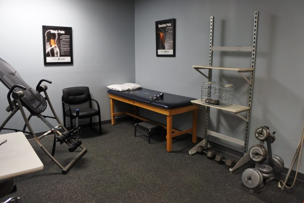Pre-Employment Physical Screening Room