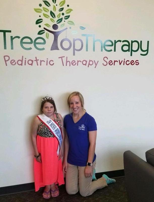 One of our Occupational Therapists posting with a winning patient